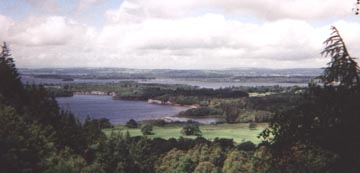 view of Killarney lakes